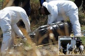 Մեքսիկայում կոյուղիներից մեկում մարդկային մնացորդներով լի 19 պոլիէթիլենային տոպրակ է հայտնաբերվել