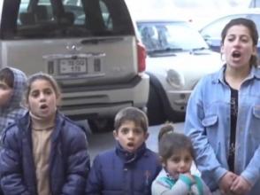 «Նիկո՛լ, դուրս արի». կառավարության մոտ յոթ անչափահաս երեխաներն ու ծնողները պահանջում էին արդարություն