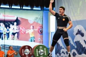 Սամվել Գասպարյանը՝ ծանրամարտի Եվրոպայի առաջնության փոխչեմպիոն