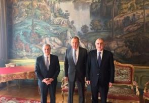 Մեկնարկել է Հայաստանի, Ռուսաստանի և Ադրբեջանի ԱԳ նախարարների հանդիպումը (լրացված)