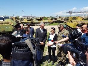Գերմանիան շնորհավորում է Հայաստանին զրահապատ մարտական մեքենաների կրճատման համար