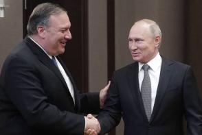 Պուտինը և Պոմպեոն քննարկել են G20-ի գագաթնաժողովում ՌԴ-ի և ԱՄՆ-ի ղեկավարների շփման հնարավորությունը