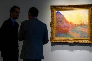 Картину Клода Моне продали на аукционе в Нью-Йорке за $110,7 млн