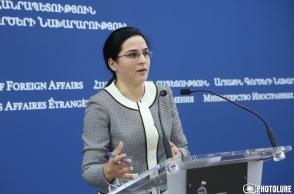 Зограб Мнацаканян говорил об их с Мамедъяровым встрече в Вашингтоне, а не о возможной встрече Пашинян-Алиев – пояснение МИД