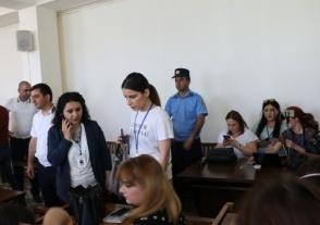 Լրագրողները բոյկոտեցին Քոչարյանի գործով դատական նիստը (տեսանյութ)