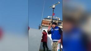 Ռումինացիները կրակ են բացել թուրքական ձկնորսական նավի վրա (տեսանյութ)
