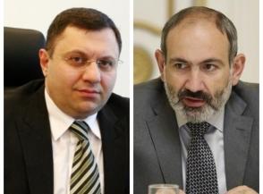 Нерсес Ерицян раскрыл «государственную тайну» и «подставил» Никола Пашиняна