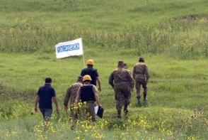 ОБСЕ проела мониторинг армяно-азербайджанской границы