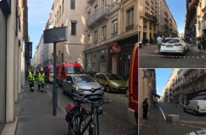 В центре французского Лиона прогремел взрыв