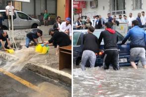 Անկարայում ուժեղ ջրհեղեղներ են. կան զոհեր (լուսանկարներ)