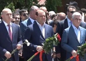 Սերժ Սարգսյանը Պանթեոնում է (տեսանյութ)