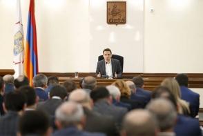 Внеочередное заседание Совета старейшин Еревана (прямой эфир)