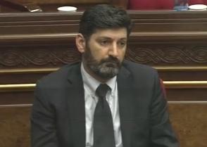 ԱԺ-ն Վահե Գրիգորյանին ընտրեց ՍԴ դատավոր