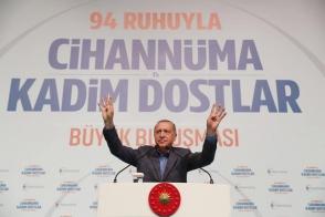 Էրդողանի խոսքով՝ Ստամբուլի քաղաքապետի ընդդիմադիր թեկնածուն ընտրվելու դեպքում չի զբաղեցնի այդ պաշտոնը