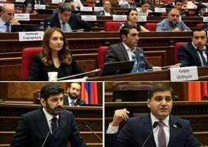 Подонки революции и аплодирующий парламент (видео)