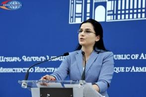 Подход главы МИД Азербайджана деструктивен – Анна Нагдалян