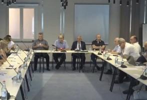 Обсуждение на тему внутриполитических развитий и Стамбульской конвенции (видео)