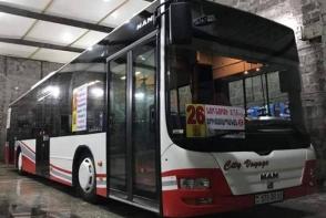 Երևանում փորձնական գործարկվում է նոր ավտոբուս