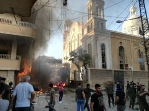 В сирийском армянонаселенном городе Эль-Камышлы произошел взрыв