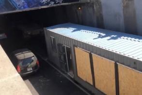 Խանջյանից Հերացի տանող անցուղում բեռնատարը կողաշրջվել է