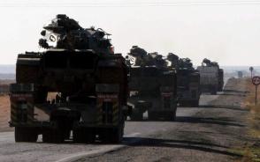 Թուրքիան զինտեխնիկա է կուտակում սիրիական սահմանին