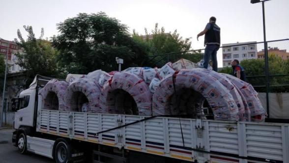 Թուրքիայում 1 տոննա մարիխուանա է առգրավվել՝ պլաստիկե խողովակների մեջ թաքցված
