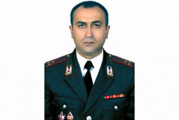 Նշանակվել է ոստիկանության Տավուշի մարզային բաժնի պետ