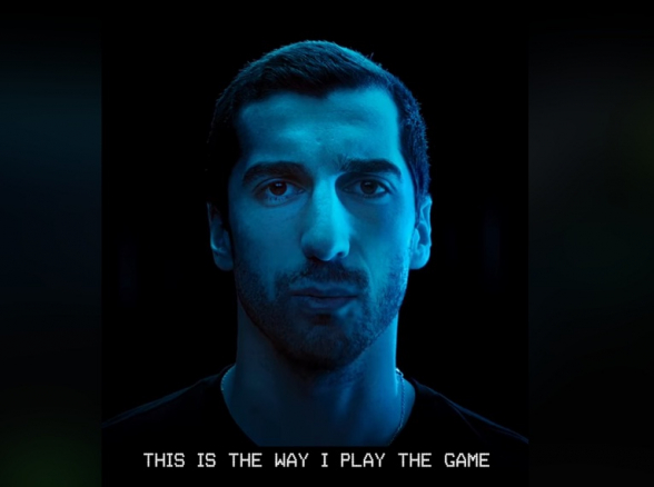 Генрих Мхитарян рекламирует «Adidas» на армянском (видео)