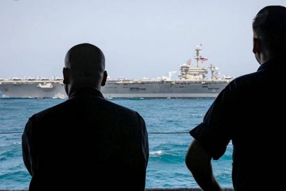 Իրանում հայտարարել են, որ հսկում են ԱՄՆ-ի ռազմածովային ուժերի բոլոր նավերը Պարսից ծոցի շրջանում