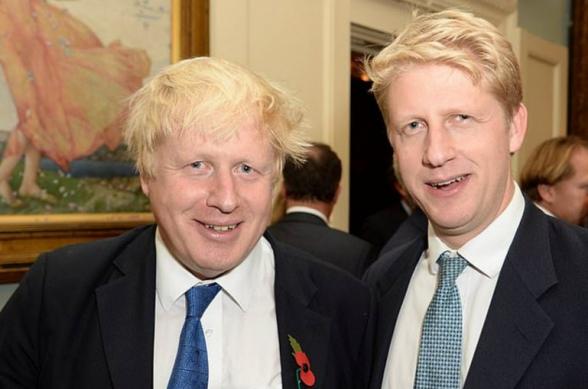 Борис Джонсон назначил младшего брата на пост замминистра по бизнесу