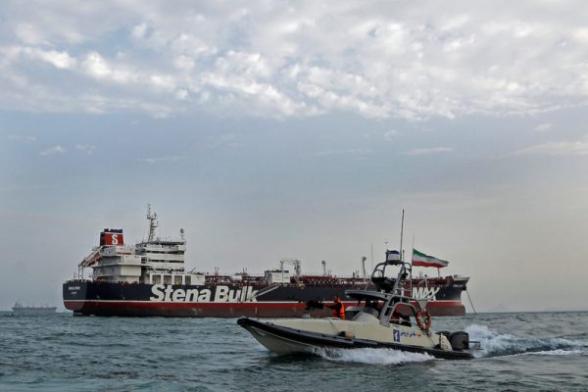 Иранские СМИ опубликовали видео захвата британского танкера