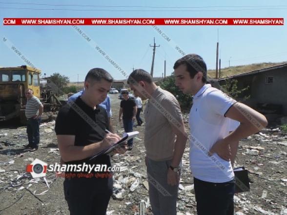Երևանում ջրատարից կուտակված աղբը դուրս բերելու ժամանակ հայտնաբերվել է դի