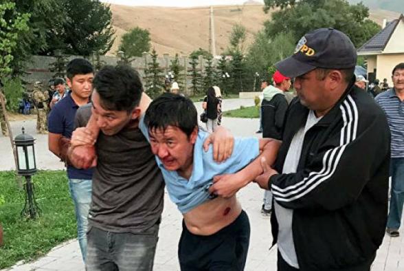 Ղրղզստանի նախկին նախագահի ձերբակալման գործողությունների ընթացքում վիրավորների թիվը հասել է 98-ի
