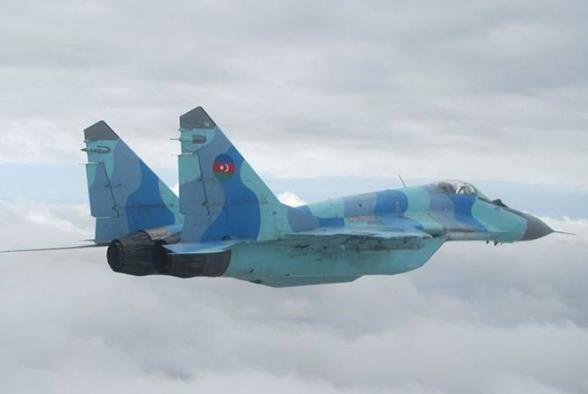 Գտնվել են Կասպից ծովն ընկած ադրբեջանական ՄիԳ-29 կործանիչի որոշ մասեր