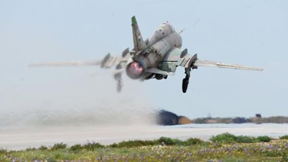 Боевики сбили сирийский военный самолет – СМИ