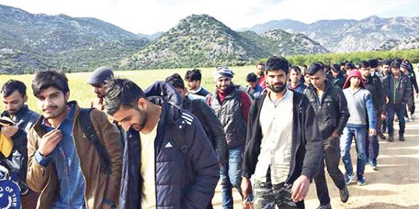 2019թ․ 7 ամսում շուրջ 77․000 աֆղան գաղթական է մուտք գործել Թուրքիա
