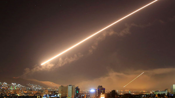 В Сирии сообщили о ракетном ударе по западной территории страны