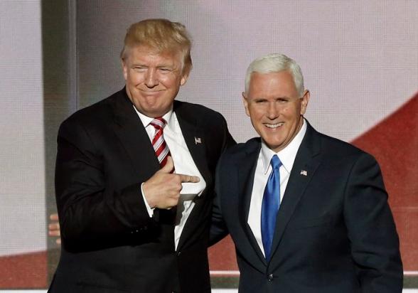 Թրամփը հաստատել է, որ 2020 թվականի նախագահական ընտրություններին կմասնակցի փոխնախագահ Մայք Փենսի հետ տանդեմով