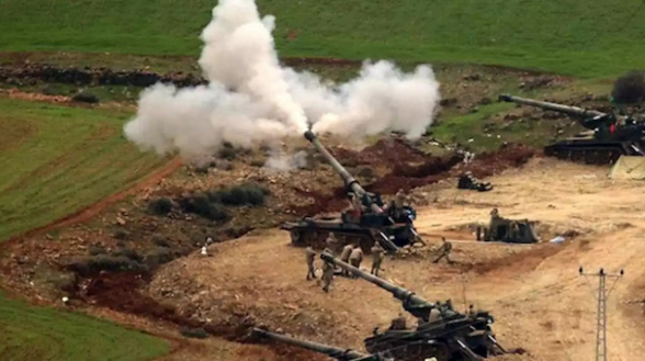 Սիրիայում թուրքական զինուժը կրակ է բացել քուրդ զինյալների դեմ