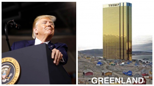 Трамп пообещал не строить небоскребы в Гренландии