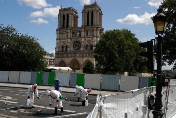 Փարիզի Աստվածամոր տաճարի առջևի հրապարակը պետք է բացվի սեպտեմբերին