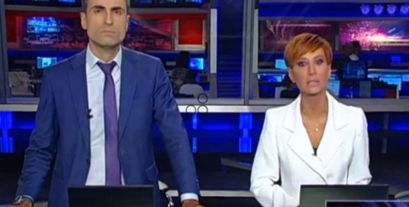 Журналисты «Рустави 2» в прямом эфире объявили о своем уходе с телеканала