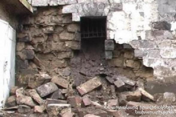 Փլուզում է տեղի ունեցել Սարի թաղում