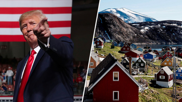 Трамп счел некрасивым отказ Дании продавать Гренландию