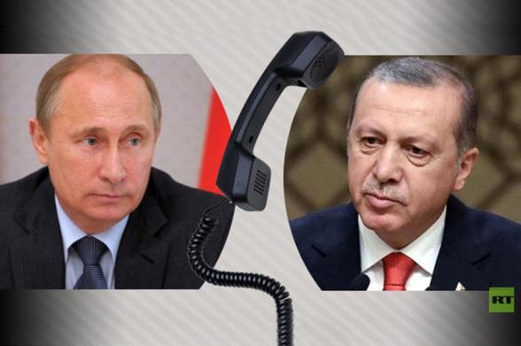 Путин и Эрдоган договорились активизировать усилия в Идлибе