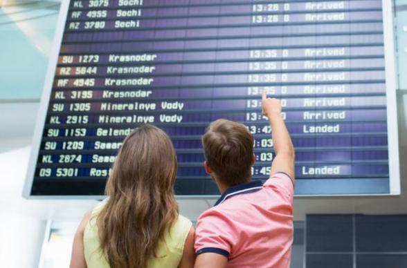 Մոսկվայի օդանավակայաններում շաբաթ առավոտյան ավելի քան 40 չվերթ է հետաձգվել կամ չեղարկվել