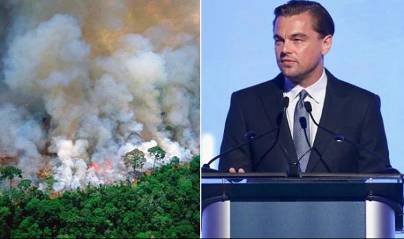 Фонд Ди Каприо направит $5 млн на помощь Амазонии