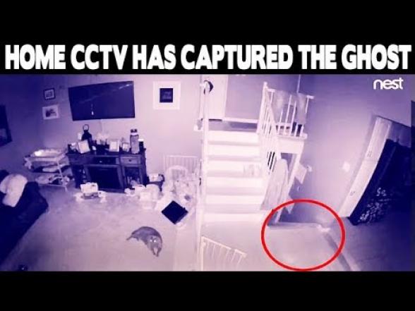 Нью-йоркская пара обнаружила в своей гостиной призраков (видео)