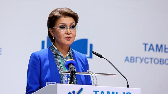 Дочь Назарбаева переизбрали спикером Сената Казахстана