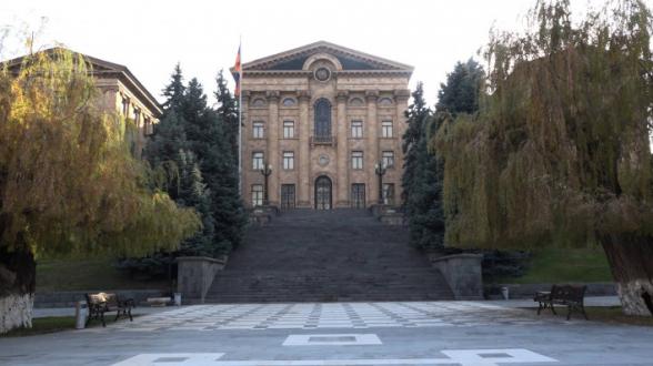 Заседание Национального собрания (видео)
